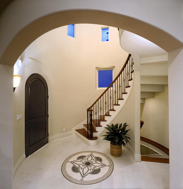 Entryway in Palos Verdes Home